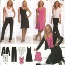 Simplicity Sewing Pattern 4697 Misses Size  4-10 Wardrobe Knit Dress Jacket Skirt Top Pants