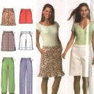 Simplicity Sewing Pattern 4701 Misses Size 4-6-8-10 Easy  Pants Shorts Skirts