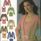 Simplicity Sewing Pattern 4779 Misses Size 14-22 Easy Knit Twin Sets Top Camisole Jacket Shrug