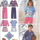 Simplicity Sewing Pattern 4816 Boys Girls Childrens Size 3-8 Pants Shorts Top Pillow