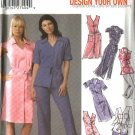 Simplicity Sewing Pattern 5191 Misses Size 8-16 Shirtdress Tunic  Cropped Pants Dress
