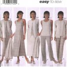 Simplicity Sewing Pattern 5345 Misses Size 8-14 Easy Wardrobe Pants Skirt Top  Dress Jumper Jacket