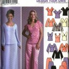 Simplicity Sewing Pattern 5445 Misses Size 8-14 Wardrobe Formal Prom Evening Tops Skirts Pants