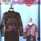 Simplicity Sewing Pattern 5818 Girls Misses Size 3-8/4-18 Quilted Jackets