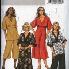 Butterick Sewing Pattern 5002 Womans Plus Size 18W-24W Easy Raised Waist Dress Top Pants