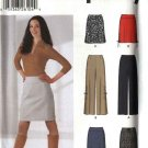 Simplicity Sewing Pattern 5861 Misses Size 12-18 Yoke Straight Long Short Skirt Long Fitted Pants