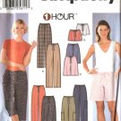 Simplicity Sewing Pattern 7092 Misses Size 6-24 Easy 1 Hour Long Cropped Pants Bermuda Shorts