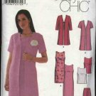 Simplicity Sewing Pattern 7160 Misses Size 6-12 Easy Wardrobe Straight Dress Top Skirt Duster Jacket