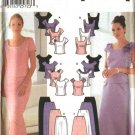 Simplicity Sewing Pattern 7173 Misses Size 6-12 Two Piece Evening Gown Formal Prom Tops Skirts