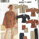 Simplicity Sewing Pattern 7183 Misses Size 6-12 Easy Wardrobe Jacket Camisole Skirt Pants