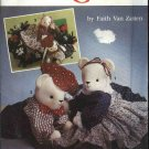 "Simplicity Sewing Pattern 7474 Sitting or Reclining 20"" Bear Bunny Clothes"