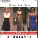 Simplicity Sewing Pattern 7510 Misses Size 10-14  Raised Waist Long Short Dress