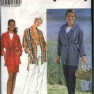 Simplicity Sewing Pattern 7976 Misses Size 6-8-10 Wrap Front Jacket Straight Skirt Long Pants
