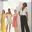 Simplicity Sewing Pattern 8137 Misses Size 18-20-22 Sundress Jumpsuit Bolero Shrug Romper Jacket