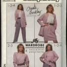 Simplicity Sewing Pattern 8904 Misses Size 12 Christie Brinkley Wardrobe Jacket Pants Skirt Top