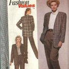 Simplicity Sewing Pattern 9299 Misses Size 8-18 Pants Unlined Jacket Pantsuit