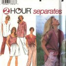 Simplicity Sewing Pattern 9518 Misses Size 18-24 Easy Wardrobe Tank Top Shell Shorts Pants Shirt