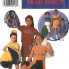 Simplicity Sewing Pattern 9798 Girls Size 2-4-6 Cheerleader Outfits Costumes Top Pleated Skirt