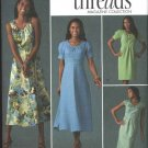 Simplicity Sewing Pattern 2926 Misses Size 18-26 Threads Collections Straight Flared Dress