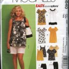 McCall's Sewing Pattern 5640 M5640 Woman's Plus Size 26W-32W Easy  Wardrobe Pants Shorts Tops Dress