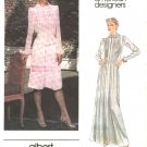Vogue Sewing Pattern 2641 Misses Size 10 Albert Nipon American Designer Long Short Dress Slip