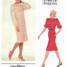Vogue Sewing Pattern 2747 Misses Size 10 Geoffrey Beene American Desinger Pullover Straight Dress