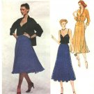 Vogue Sewing Pattern 2167 Misses Size 10 Gianni Versace Designer Original Jacket Camisole Skirt
