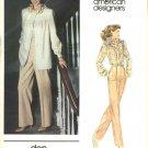 Vogue Sewing Pattern 2729 Misses Size 10 Don Sayres American Designer Jacket Pants Blouse
