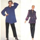 Vogue Sewing Pattern 2403 Misses Size 10 Jean Muir Designer Original Long Sleeve Tunic Top Pants