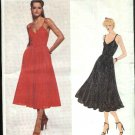 Vogue Sewing Pattern 2122 Misses Size 10 Scott Barrie American Designer Full Skirt Dress Sundress