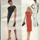 Vogue Sewing Pattern 2422 Misses Size 10 Adele Simpson American Designer Long Short Dress