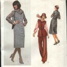 Vogue Sewing Pattern 1512 Misses Size 10 Jerrry Silverman American Designer Jumper Tunic Pants