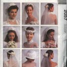 McCall's Sewing Pattern 2057 Misses All Sizes Alicyn Exclusives Bridal Wedding Veils Headpieces