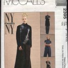 McCall's Sewing Pattern 2395 Misses Size 16-20 Wardrobe Knit Turtleneck Top Pants Jacket