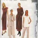 McCall's Sewing Pattern 2922 Misses Size 20-22 Easy Wardrobe Knit Duster Dress Tunic Pants