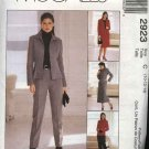 McCall's Sewing Pattern 2923 Misses Size 14-16-18 Classic Jacket Pants Skirt Suit Pantsuit