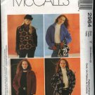 McCall's Sewing Pattern 2964 Misses Size 16-26 Polargear Fleece Button Front Jacket