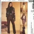 McCall's Sewing Pattern 3028 Misses Size 6-10 Wardrobe Jacket Blouse Skirt Pants Suit Pantsuit
