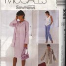McCall's Sewing Pattern 3098 Misses Size 8-12 Sew News Wardrobe Jacket Top Skirt Pants