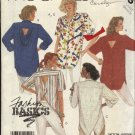 McCall's Sewing Pattern 3135 Misses Size 18-20 Button Front Back Big Shirt Top