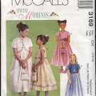McCall's Sewing Pattern 3169 Girls Size 7-10 Special Moments Dress Lined Bolero Jacket Purse