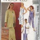 McCall's Sewing Pattern 3244 Womans Plus Size 18W-24W Wardrobe Jacket Dress Top Pants