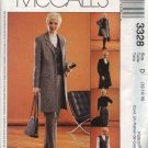McCall's Sewing Pattern 3328 Misses Size 6-8-10 Wardrobe Lined Jacket Vest Pants Skirt