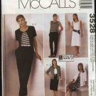 McCall's Sewing Pattern 3528 Misses Size 8-22 Easy Knit Wardrobe Cardigan Dress Top Pants Skirt