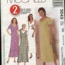 McCall's Sewing Pattern 3543 Misses Size 8-14 A-Line Dress Jumper
