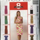 McCall's Sewing Pattern 3548 Misses Size 8-14 Easy Top Straight Skirt 2-Piece Dress