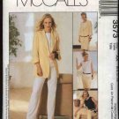 McCall's Sewing Pattern 3573 Misses Size 6-12 Wardrobe Lined jacket Top Straight Skirt Long Pants