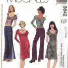 McCall's Sewing Pattern 3642 M3642 Girls Size 7-8-10 Wardrobe Dress Tops Pants