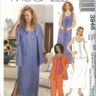 McCall's Sewing Pattern 3946 Womans Plus Size 18W-24W Wardrobe Dress Skirt Top Pants Skirt