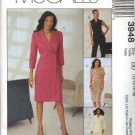McCall's Sewing Pattern 3948 Misses Size 12-18 Wardrobe Double Breasted Jacket Vest Dress Pants